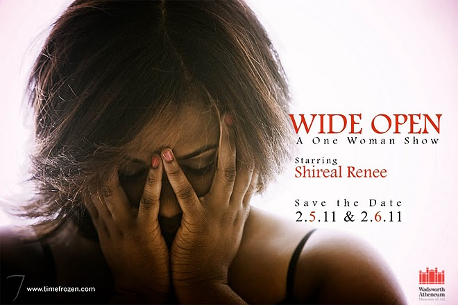 "Link to CTalentTv Review – ""WIDE OPEN"" A ONE WOMAN STAGE PLAY… By Shireal Renee"