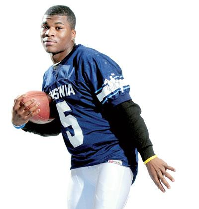 Link to CTalent.Tv Sports update: Montrell Dobbs (Ansonia HS/Milford Prep academy) UCONN Commit